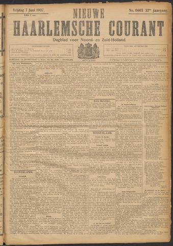 Nieuwe Haarlemsche Courant 1907-06-07
