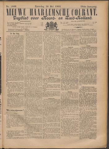 Nieuwe Haarlemsche Courant 1903-05-30