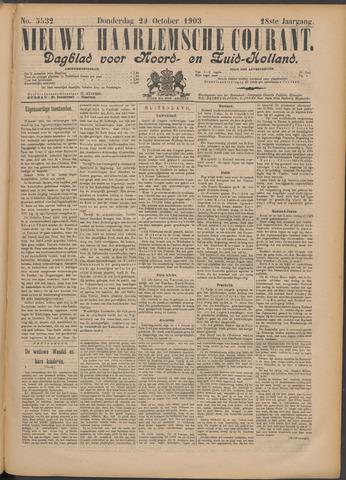 Nieuwe Haarlemsche Courant 1903-10-29