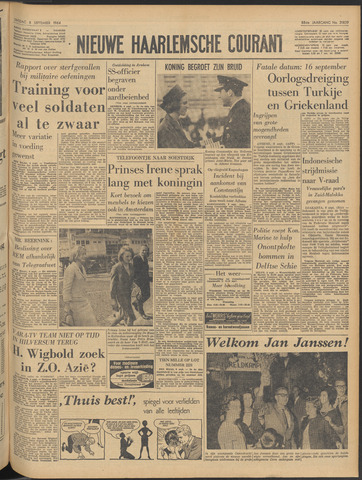 Nieuwe Haarlemsche Courant 1964-09-08