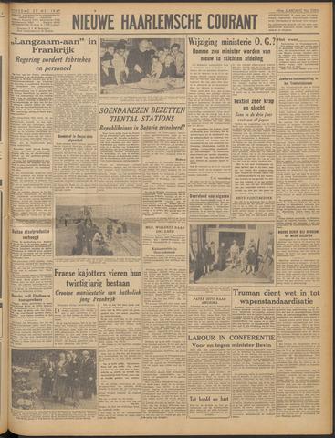 Nieuwe Haarlemsche Courant 1947-05-27