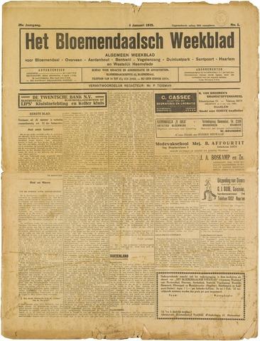 Het Bloemendaalsch Weekblad 1935