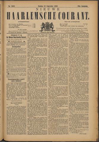 Nieuwe Haarlemsche Courant 1893-09-10