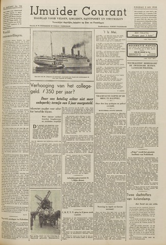 IJmuider Courant 1939-05-02