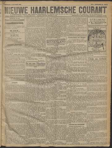 Nieuwe Haarlemsche Courant 1919-10-06