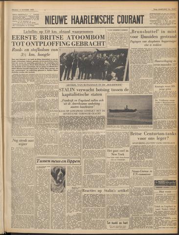 Nieuwe Haarlemsche Courant 1952-10-03