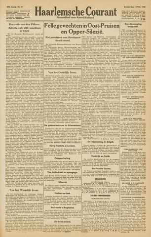 Haarlemsche Courant 1945-02-01
