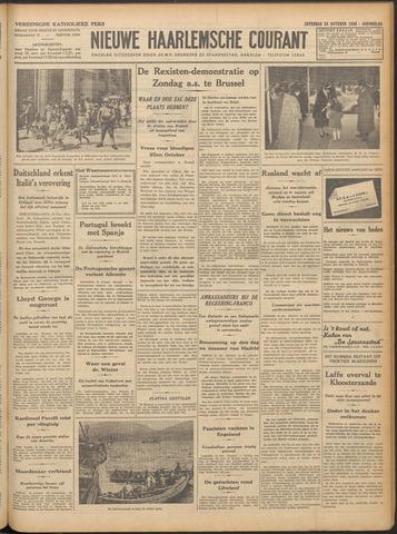 Nieuwe Haarlemsche Courant 1936-10-24