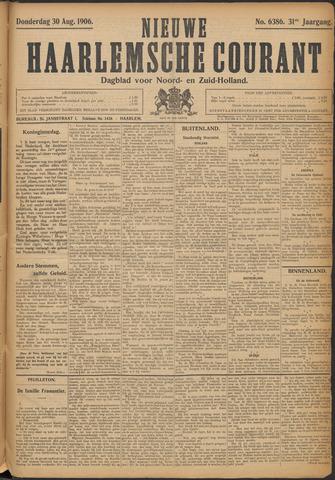 Nieuwe Haarlemsche Courant 1906-08-30