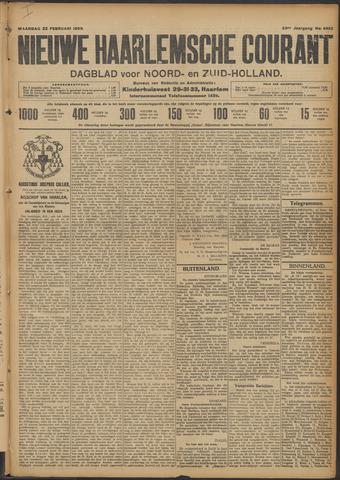 Nieuwe Haarlemsche Courant 1909-02-22