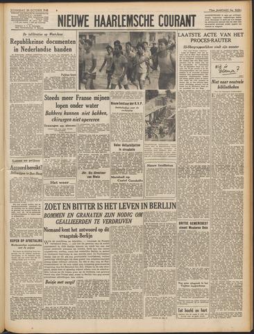 Nieuwe Haarlemsche Courant 1948-10-20