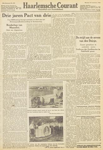 Haarlemsche Courant 1943-09-28