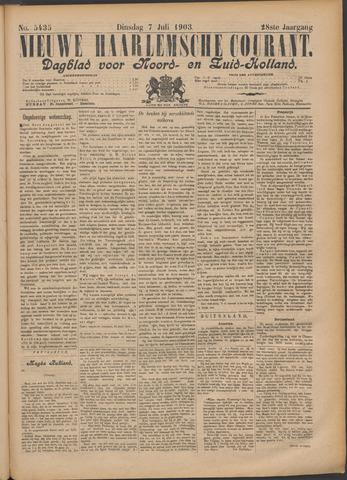 Nieuwe Haarlemsche Courant 1903-07-07
