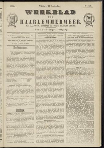 Weekblad van Haarlemmermeer 1881-09-23