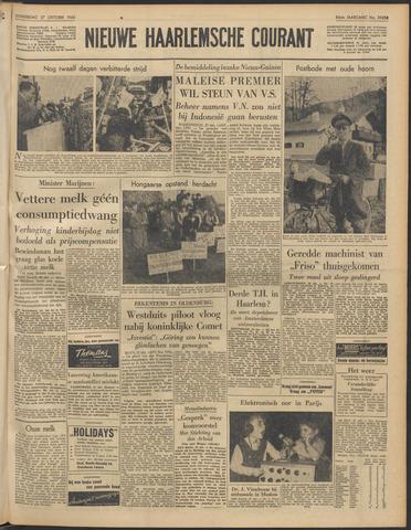 Nieuwe Haarlemsche Courant 1960-10-27