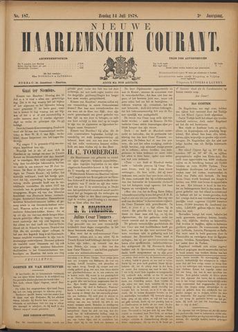 Nieuwe Haarlemsche Courant 1878-07-14