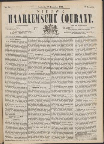 Nieuwe Haarlemsche Courant 1877-12-27
