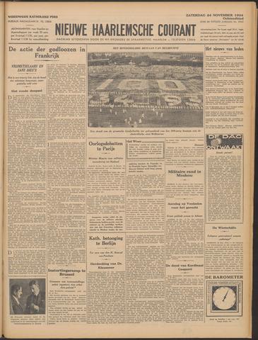 Nieuwe Haarlemsche Courant 1934-11-24