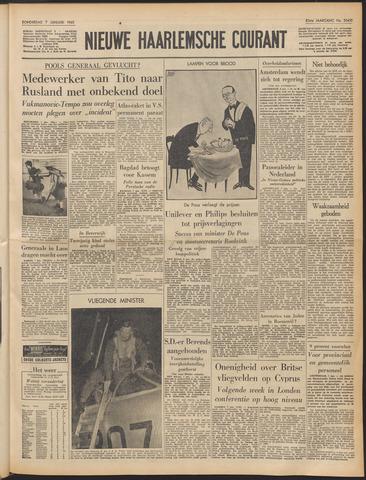 Nieuwe Haarlemsche Courant 1960-01-07