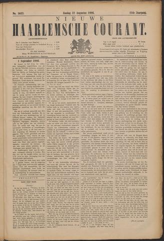 Nieuwe Haarlemsche Courant 1886-08-22