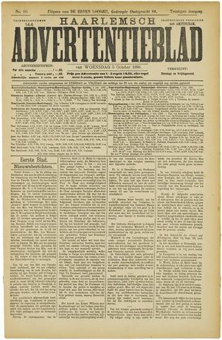 Haarlemsch Advertentieblad 1898-10-05