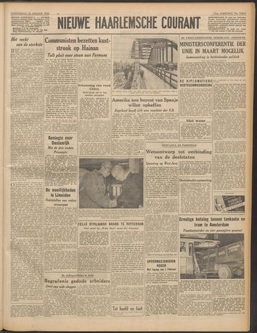 Nieuwe Haarlemsche Courant 1950-01-12