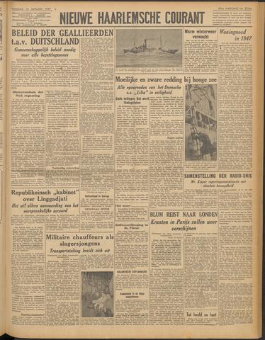 Nieuwe Haarlemsche Courant 1947-01-14