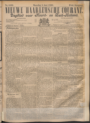 Nieuwe Haarlemsche Courant 1900-06-04