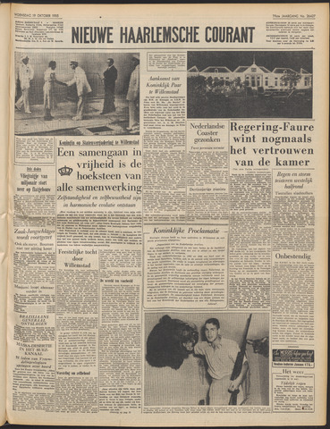 Nieuwe Haarlemsche Courant 1955-10-19
