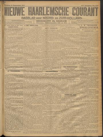 Nieuwe Haarlemsche Courant 1916-09-19