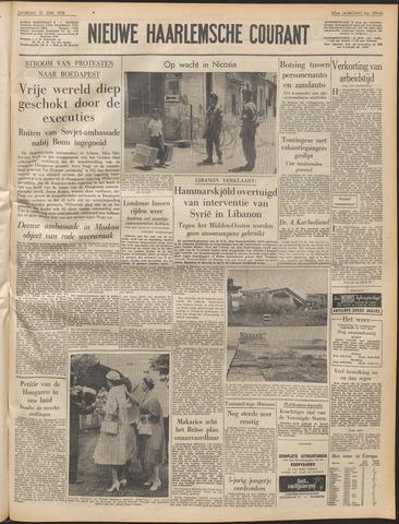 Nieuwe Haarlemsche Courant 1958-06-21