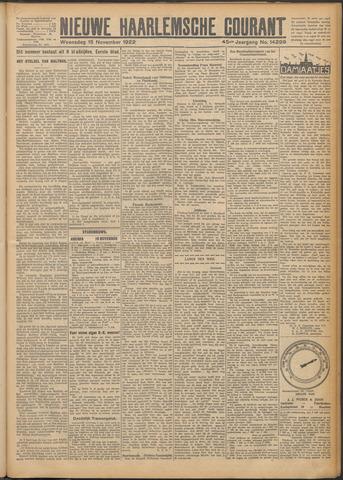 Nieuwe Haarlemsche Courant 1922-11-15