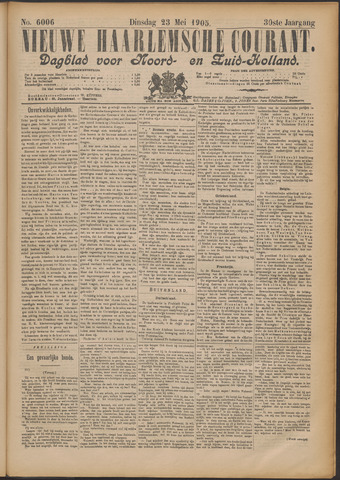 Nieuwe Haarlemsche Courant 1905-05-23
