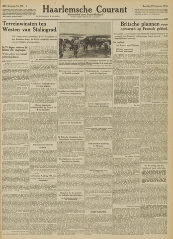 Haarlemsche Courant 1942-08-29