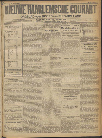 Nieuwe Haarlemsche Courant 1916-04-18