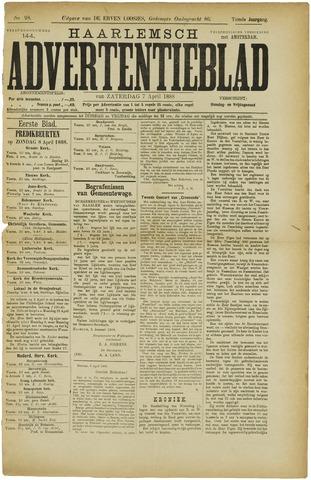 Haarlemsch Advertentieblad 1888-04-07
