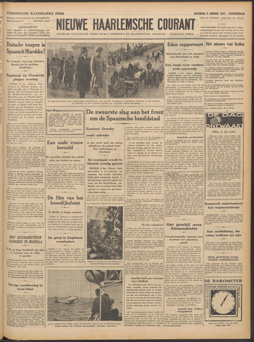 Nieuwe Haarlemsche Courant 1937-01-09