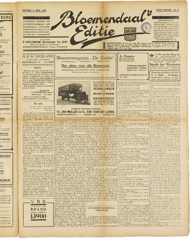 Bloemendaal's Editie 1929-04-06