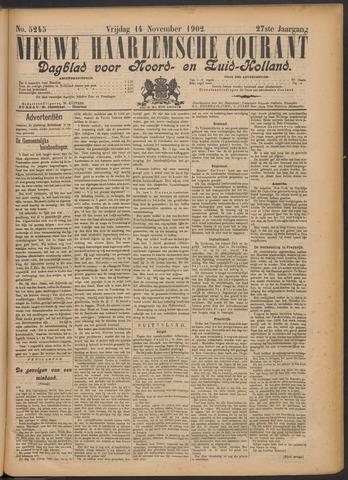 Nieuwe Haarlemsche Courant 1902-11-14