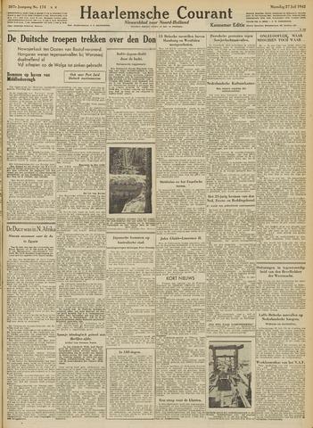 Haarlemsche Courant 1942-07-27