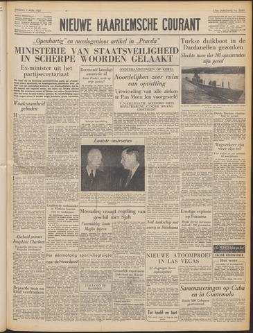 Nieuwe Haarlemsche Courant 1953-04-07