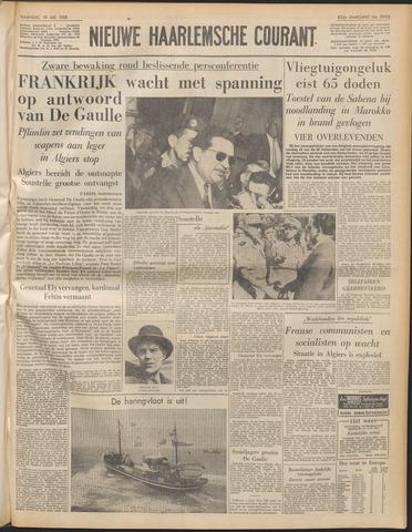 Nieuwe Haarlemsche Courant 1958-05-19