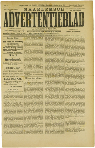 Haarlemsch Advertentieblad 1895-04-06
