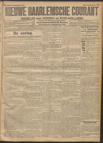 Nieuwe Haarlemsche Courant 1914-08-24