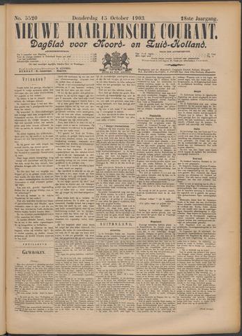 Nieuwe Haarlemsche Courant 1903-10-15
