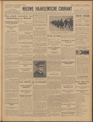 Nieuwe Haarlemsche Courant 1936-08-23