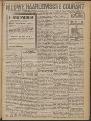 Nieuwe Haarlemsche Courant 1919-12-27