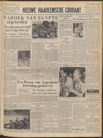 Nieuwe Haarlemsche Courant 1952-07-28