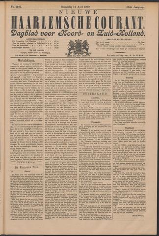 Nieuwe Haarlemsche Courant 1900-04-12