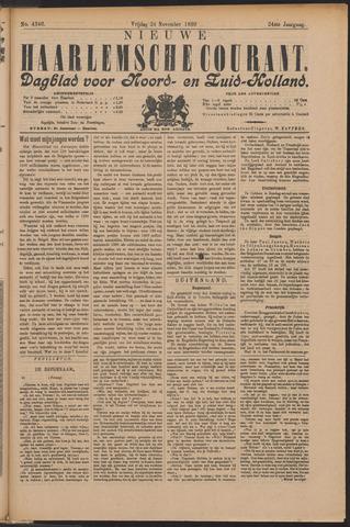 Nieuwe Haarlemsche Courant 1899-11-24